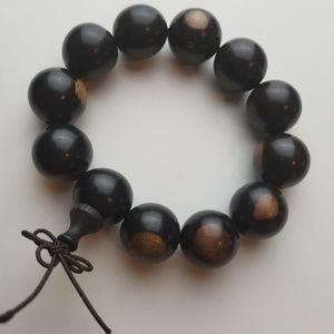 Jewelry - Ebony Wood Stretch Bracelets